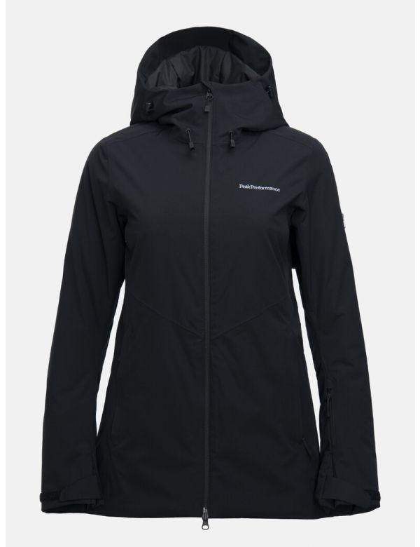 PEAK PERFORMANCE WOMEN'S ANIMA LONG SKI JACKET Black