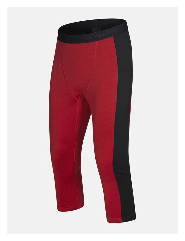 Peak Performance men's helo tights dark red