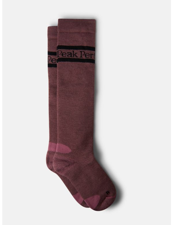 PEAK PERFORMANCE WARM SOCKS Frosty rose