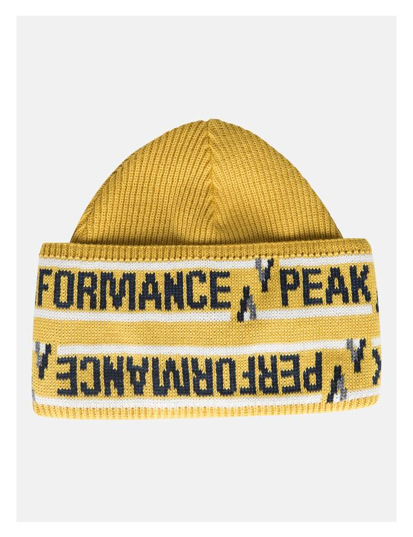 peak-performance-peakville-beanie-yellow-flow