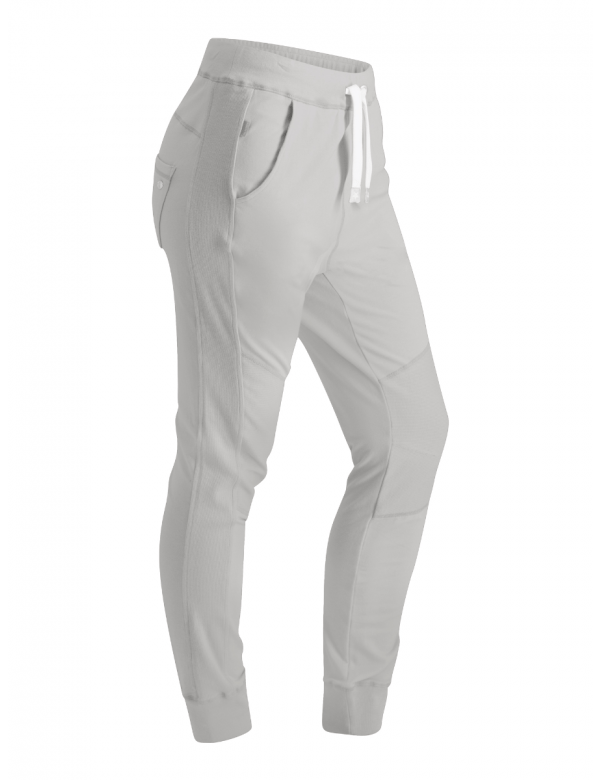 GOLDBERGH CECIL PANT light grey melange