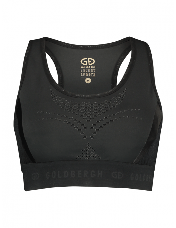 GOLDBERGH JAMES BRA TOP black