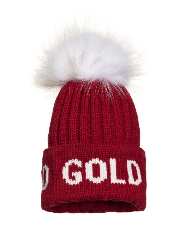 GOLDBERGH HODD BEANIE Ruby red
