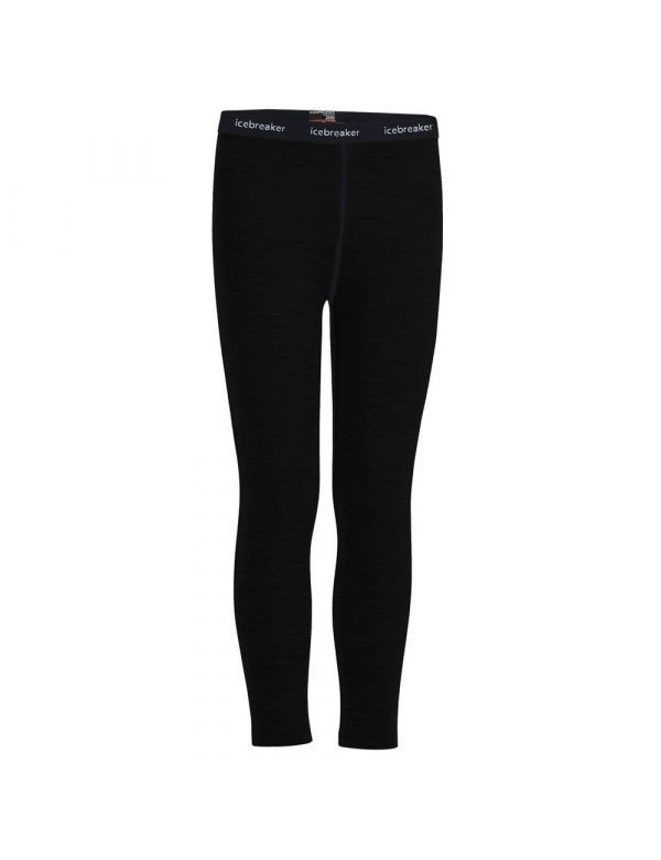 Icebreaker leggings kids black
