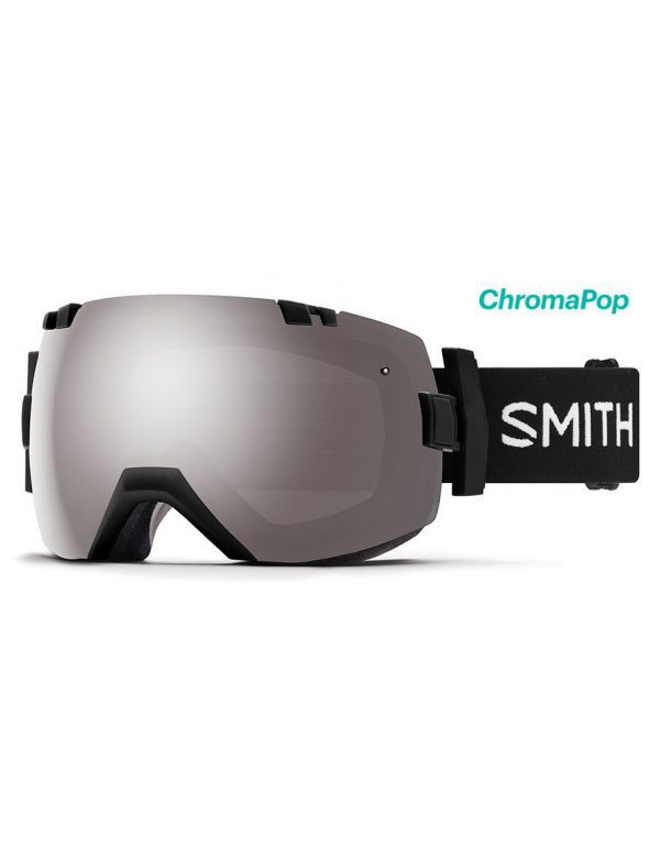 SMITH I/OX GOGGLE Black platinum