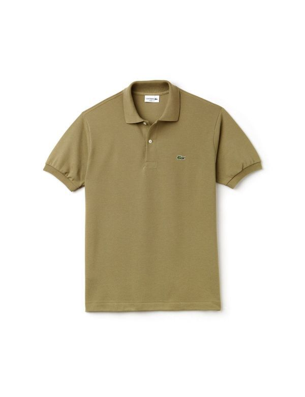 LACOSTE CLASSIC SHORT SLEEVE POLO aloe