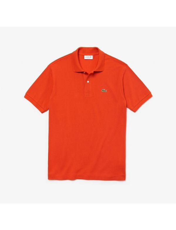 Lacoste short sleeve orange