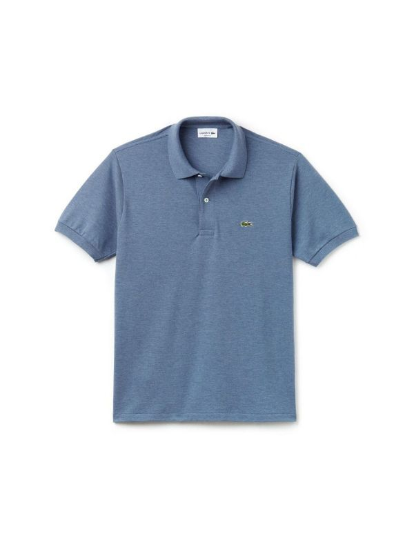 LACOSTE CLASSIC SHORT SLEEVE POLO neptune chine