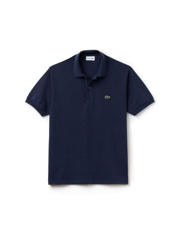 LACOSTE CLASSIC SHORT SLEEVE POLO nocturne chine