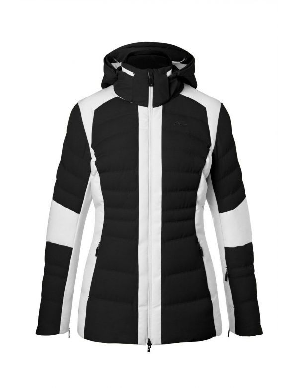 KJUS WOMEN DUANA JACKET black white