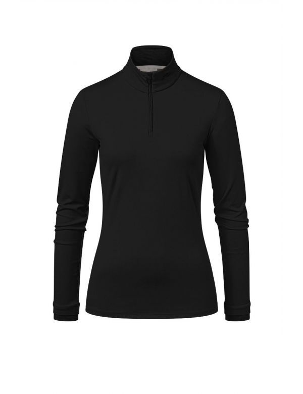 kjus women feel halfzip black