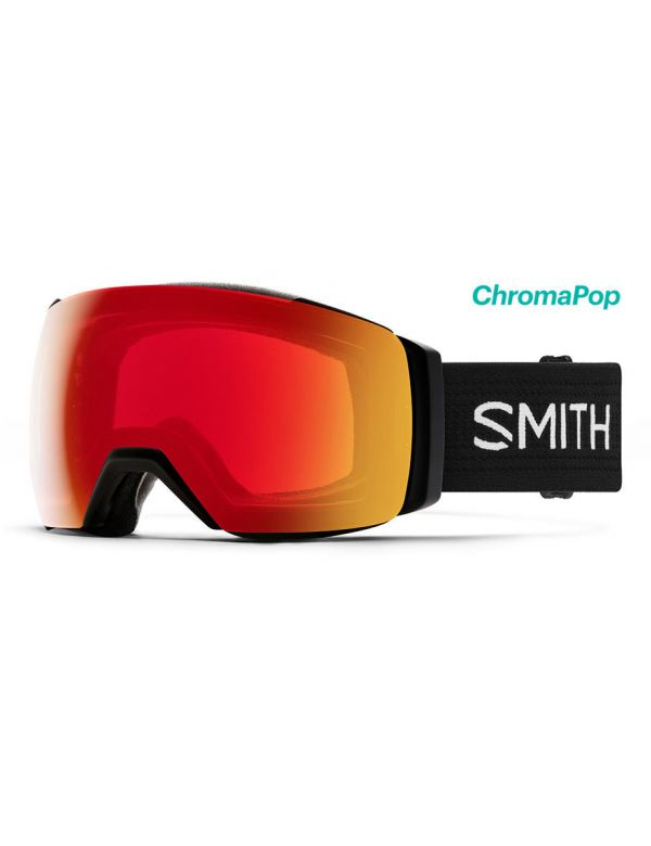 Smith I/O Mag XL red mirror black