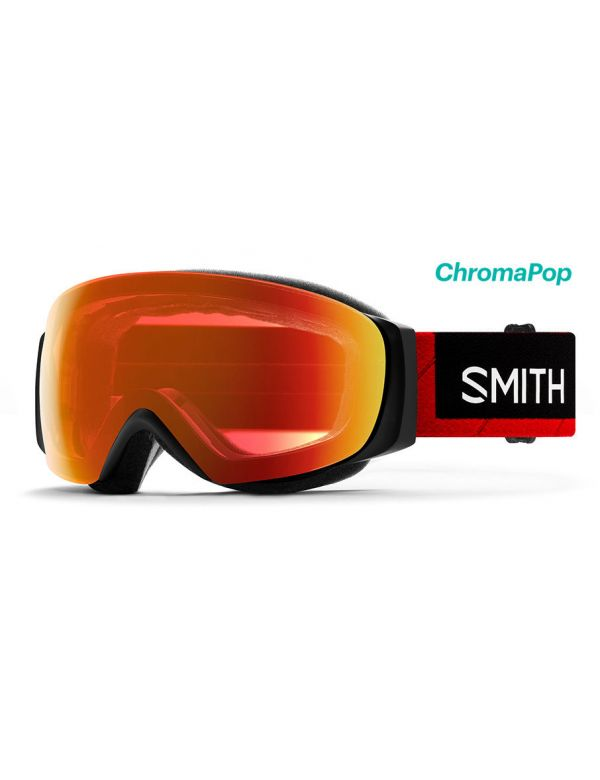 SMITH I/O MAG S THE NORTH FACE everyday red mirror