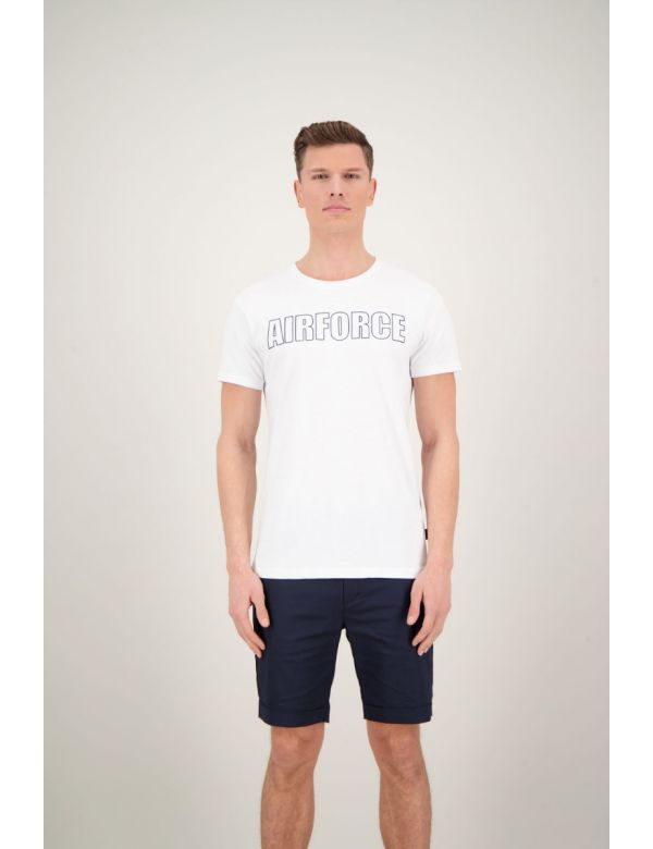 AIRFORCE OUTLINE T-SHIRT White