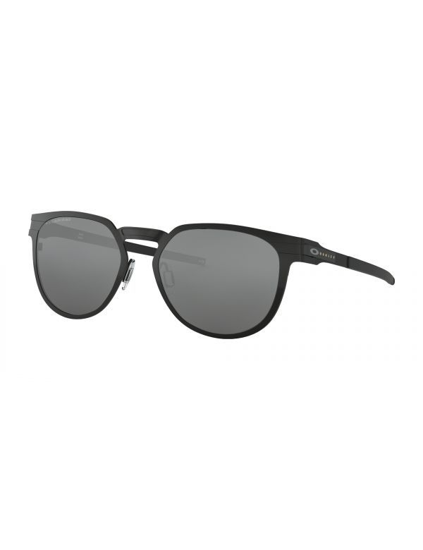 oakley diecutter black satin polarized