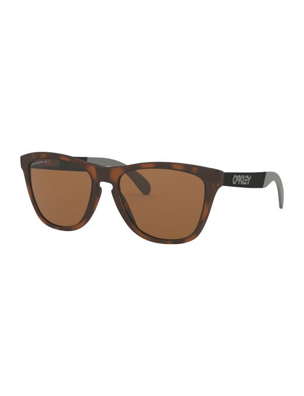 oakley frogskin matte brown polarized