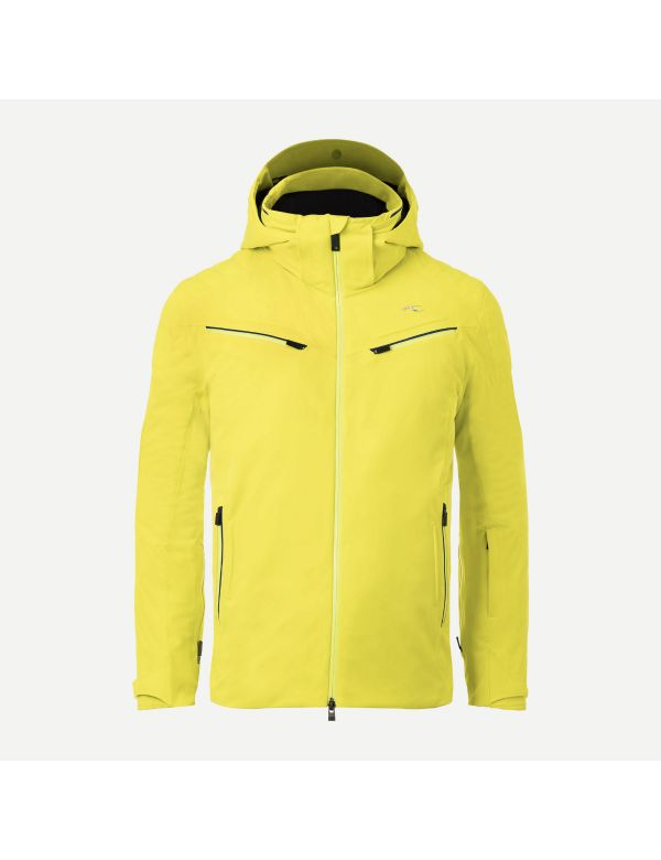 Kjus formula jacket citric yellow