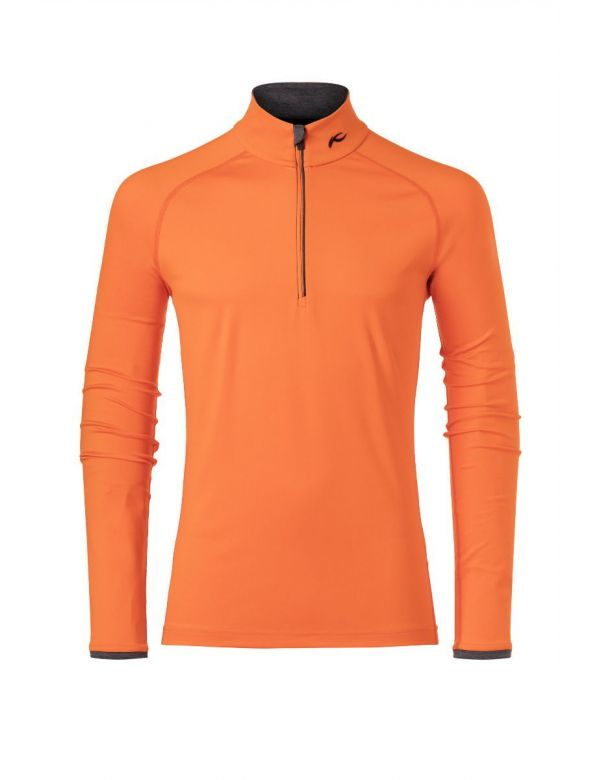 Kjus men feel halfzip kjus orange