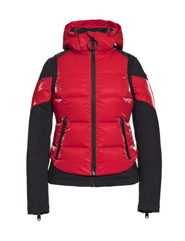 GOLDBERGH NURA JACKET Ruby red