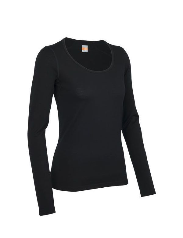 Icebreaker Women's Oasis Long Sleeve Scoop