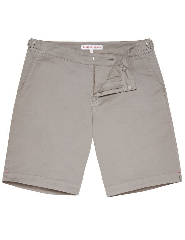 ORLEBAR BROWN DANE COTTON TWILL PEWTER
