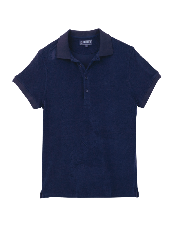 VILEBREQUIN MEN SOLID TERRY POLO