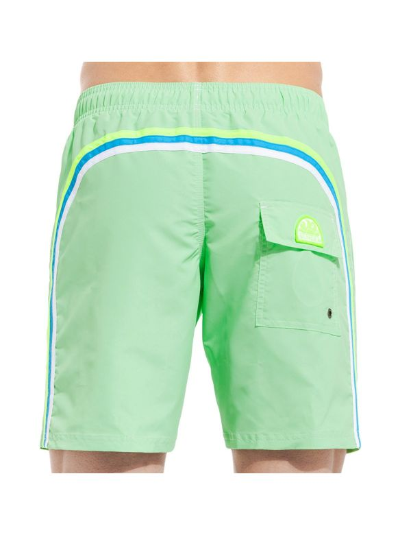 SUNDEK ELASTIC ZWEMBROEK LONG tender green