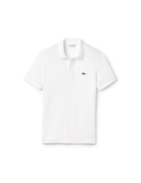LACOSTE SHORT SLEEVE SLIM FIT POLO WHITE