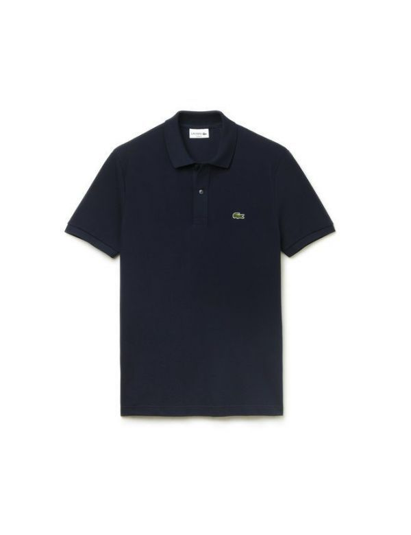 LACOSTE SHORT SLEEVE SLIM FIT POLO marine