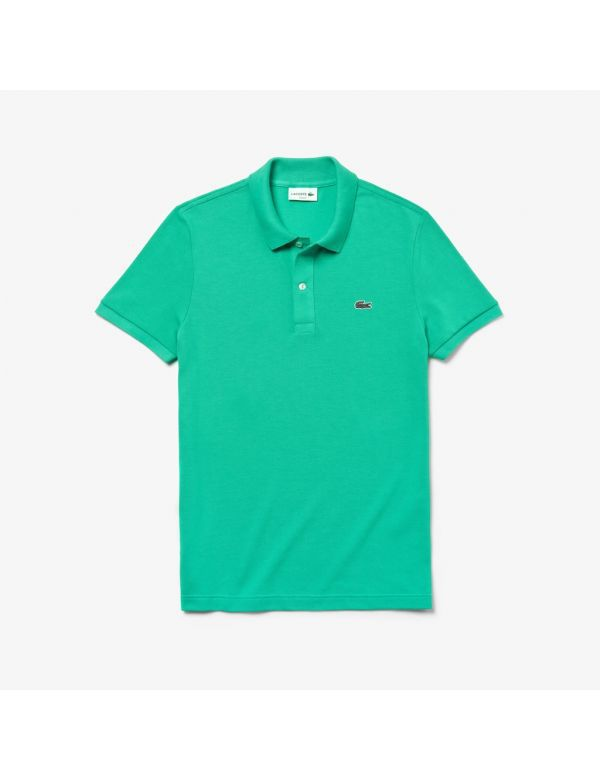 lacoste slim fit polo vert clair green groen