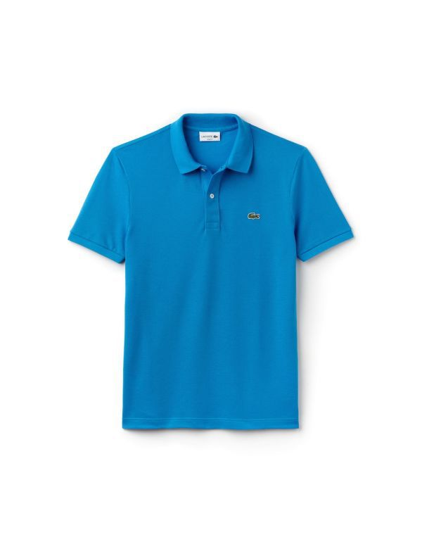 lacoste slim fit polo bleu ptv