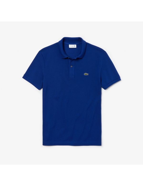 lacoste slim fit polo beu marine xoU