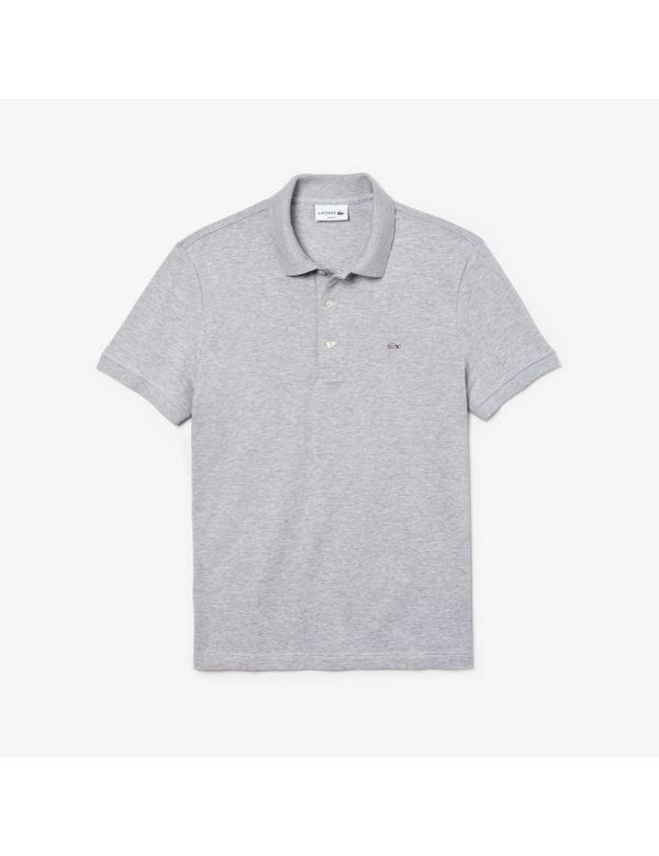 lacoste stretch slim fit argent chine