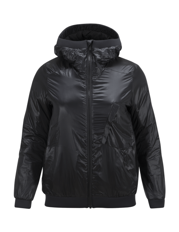 PEAKPERFORMANCE WOMEN'S POWDERHOUND LINER SKI JACKET BLACK