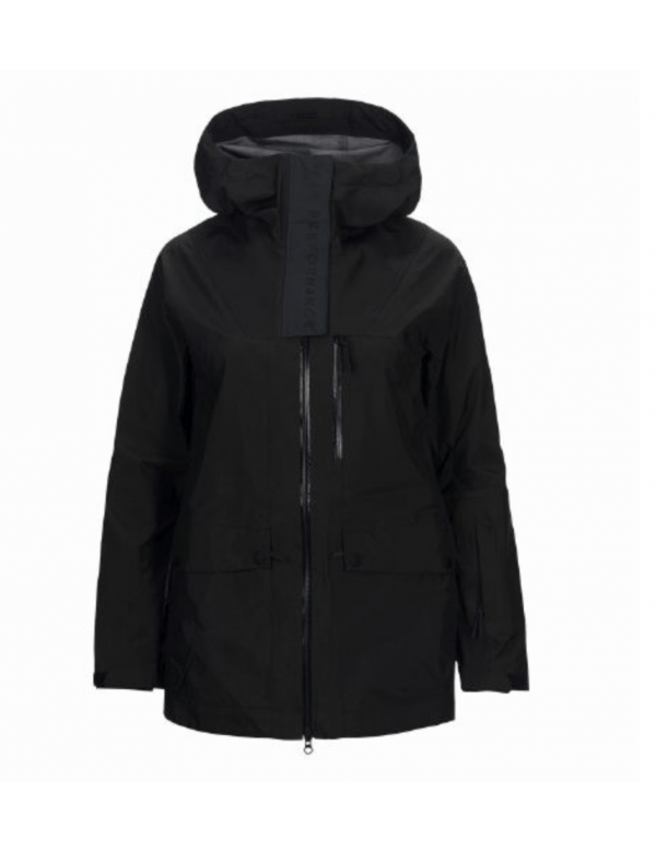 Peak performance women's mystery jacket black