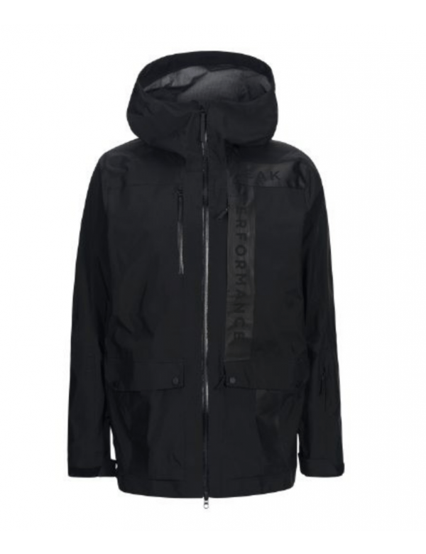 Peak performance men's mystery jacket black