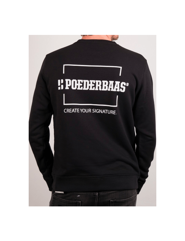 POEDERBAAS CREATE YOUR SIGNATURE TRUI Zwart
