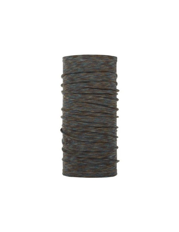 BUFF MIDWEIGHT MERINO WOOL Fossil multi stripes
