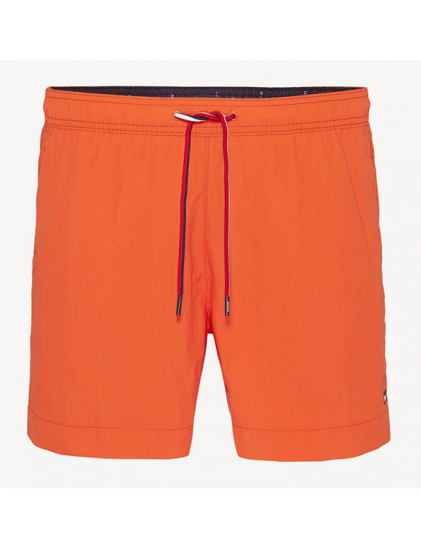 tommy hilfiger solid zwemshort orange