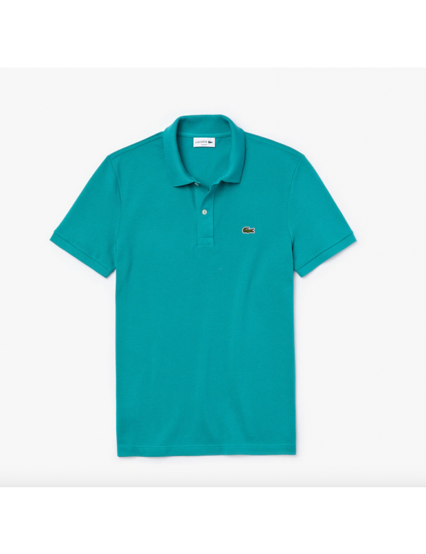 LACOSTE SLIM FIT POLO Niagara Blue