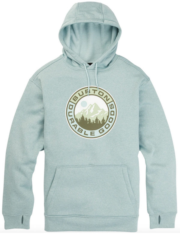 BURTON OAK PULL OVER Ether blue Heather
