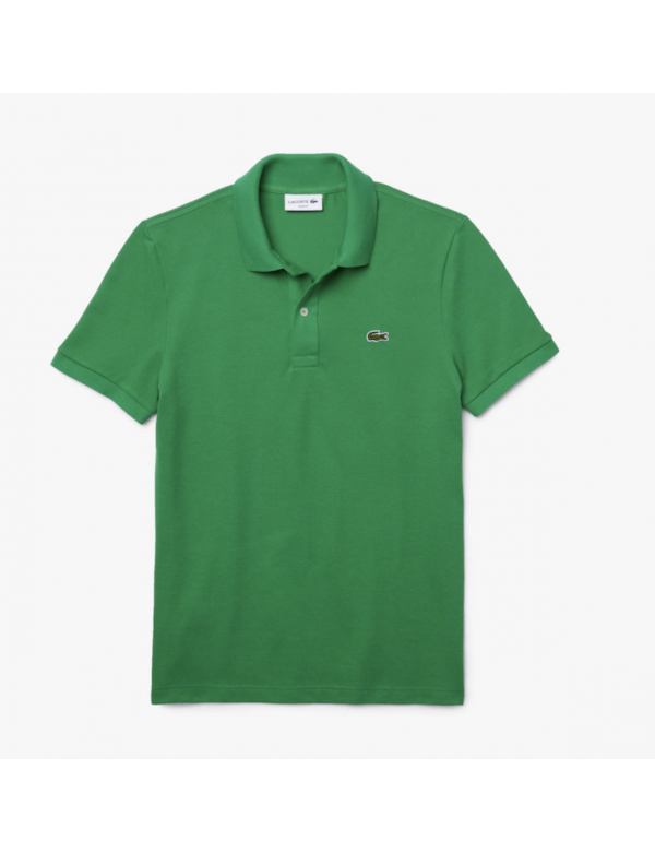 LACOSTE SLIM FIT POLO chervil