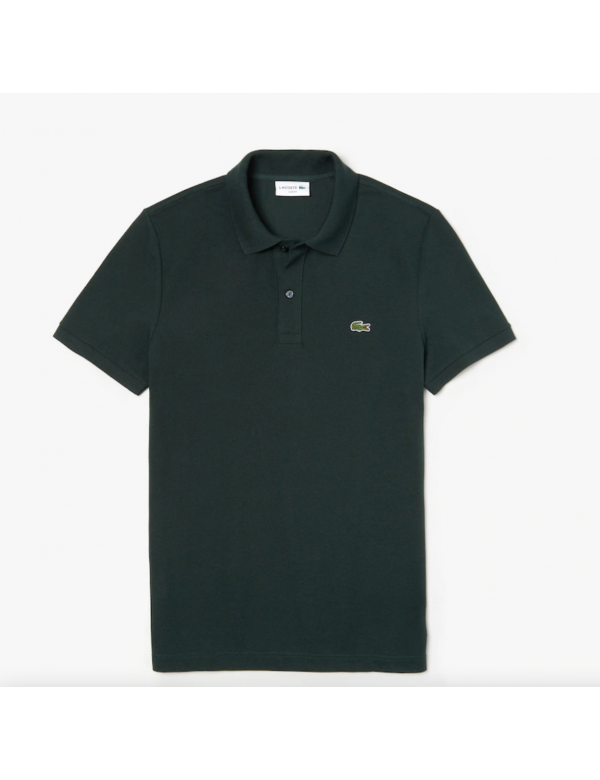 LACOSTE SLIM FIT POLO Sinople