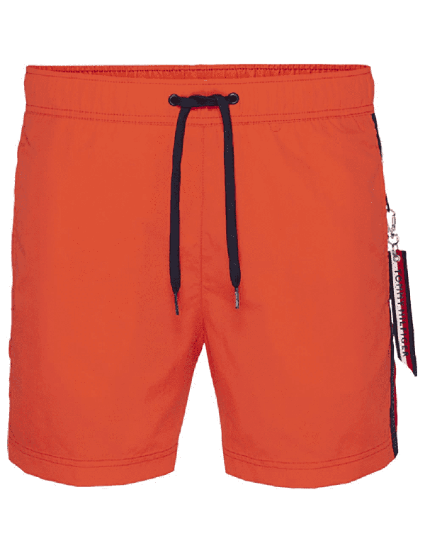 TOMMY HILFIGER SLIM FIT ZWEMSHORT spicey orange