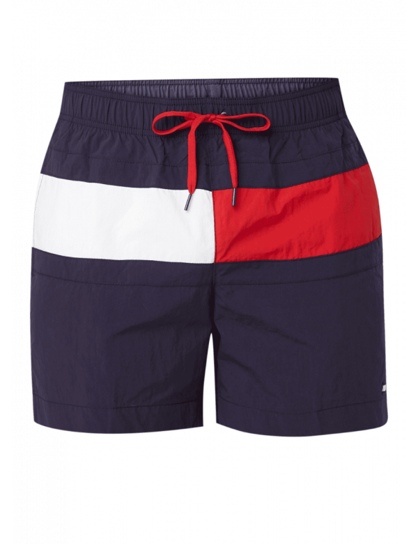 tommy hilfiger medium drawstring blue red white