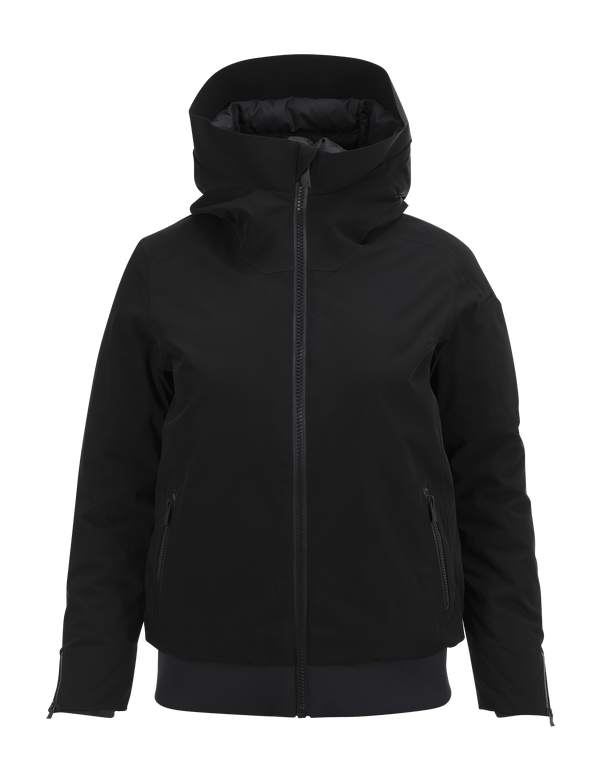 PEAKPERFORMANCE WOMEN'S SHOWDOWN SKI JACKET BLACK