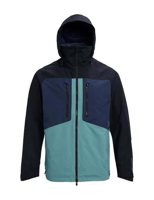 Burton ak swash jacket modigo true black trellis