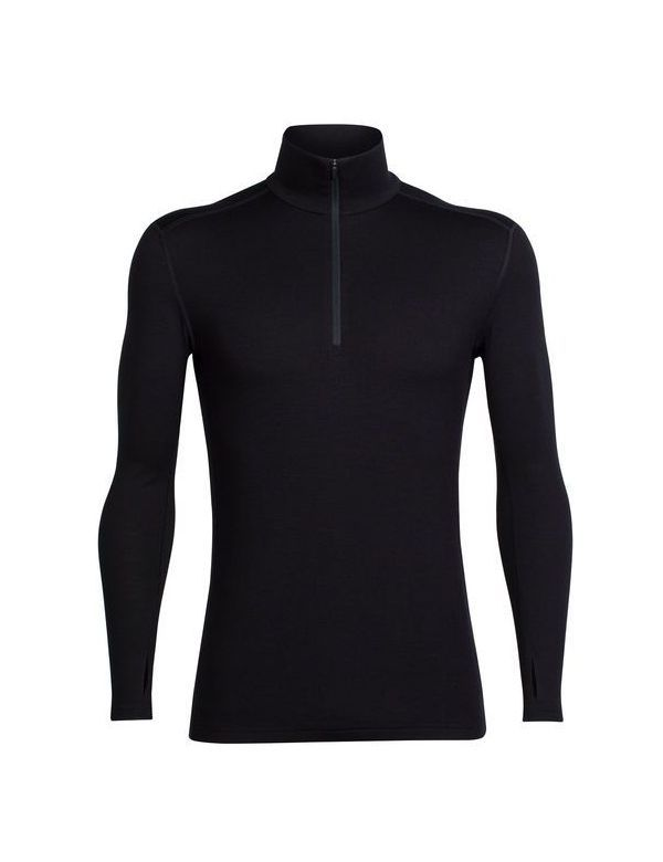 Icebreaker Men's Tech Top Long Sleeve Half Zip