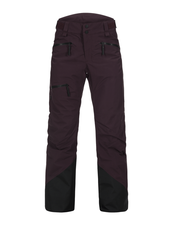 PEAKPERFORMANCE WOMEN'S TETON 2-LAYERS SKI PANTS MAHOGANY