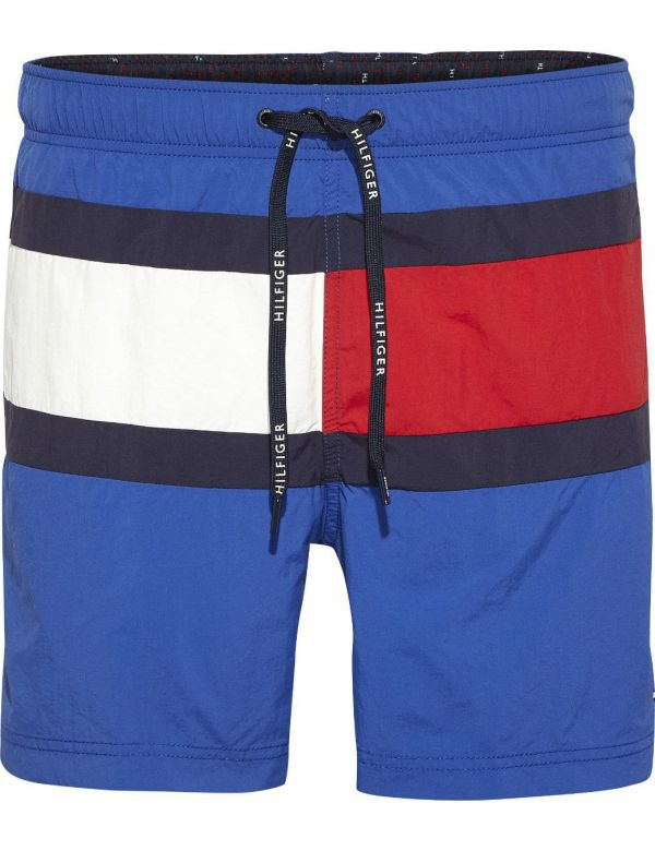 TOMMY HILFIGER MEDIUM DRAWSTRING ZWEMSHORT BLUE